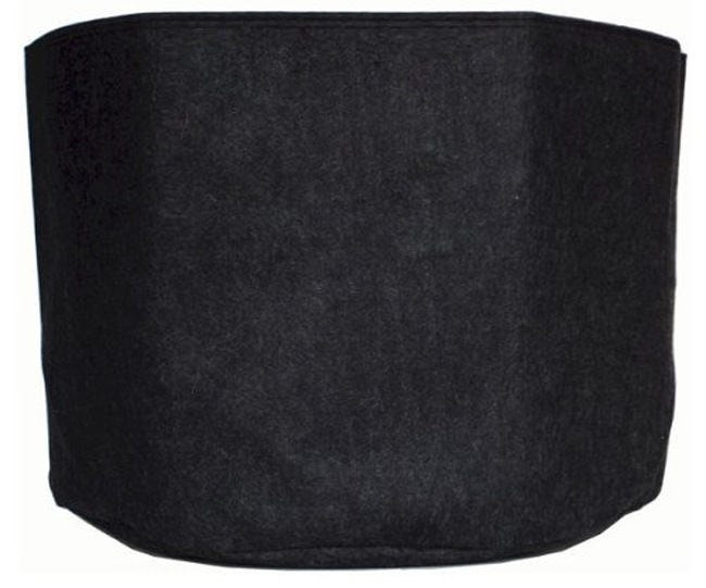 Photograph of Common Culture Round Fabric Black Pot - 3 Gallon