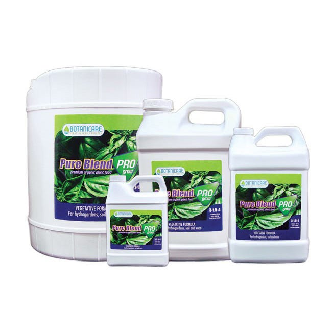 Botanicare Pure Blend Pro Grow Formula 3-1 5-4 -- 15 Gallon