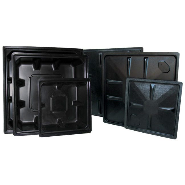 Black Reservoir ABS Plastic - 100 Gallon