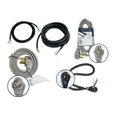 Titan Controls 30 & 50 Amp Power Cords -- Dryer Cord -- DISCONTINUED High quality power cords. Use the appropriate cord for your project.
