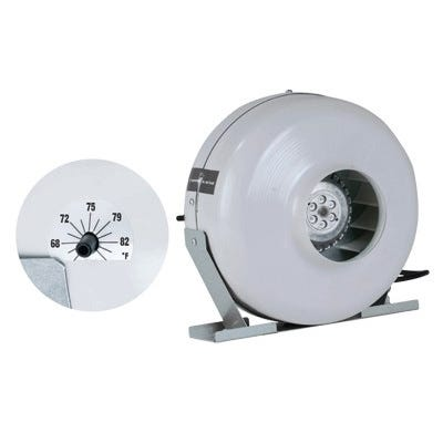Can-Fan Inline Fans With Thermostats -- 6 inch HO