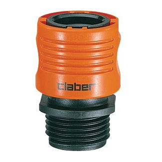 Claber Male threaded Hose Connector *DISCONTINUED*