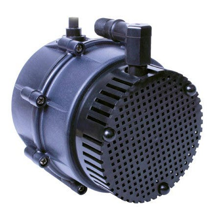 Little Giant NK-2 Submersible Pump -- 325 GPH Permanently lubricated pumps for commercial, industrial, and home use where liquid must be transferred or recirculated. Applications include hydroponic systems, water gardens, ponds, etc. Corrosion-resistant nylon housing. Five position options. 6' power cord. 1/4  MNPT outlet accepts 1/2Ó I.D. tubing. Thermally protected. Bottom or side intake. Manufacturer Item No. 527003. One year limited warranty. Instructions