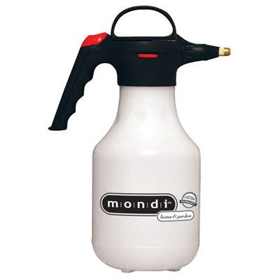Mondi Mist & Spray Premium Sprayer 1.5 Qt. A superior quality, small capacity tank sprayer designed for use in the garden or home. Designed to provide maximum comfort, efficiency, safety and ease of use. Constructed from high grade plastic to ensure a long life and easy maintenance. Equipped with a swivel nozzle that adjusts from a jet stream to a fine mist spray. Packaged with a bonus 6  extension nozzle for harder to reach areas. Two year warranty.