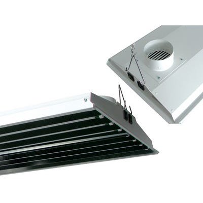 Solar Wind Air Cooled T5 VHO Fixture -- 8 Lamp - 48 inch - 240V - DISCONTINUED