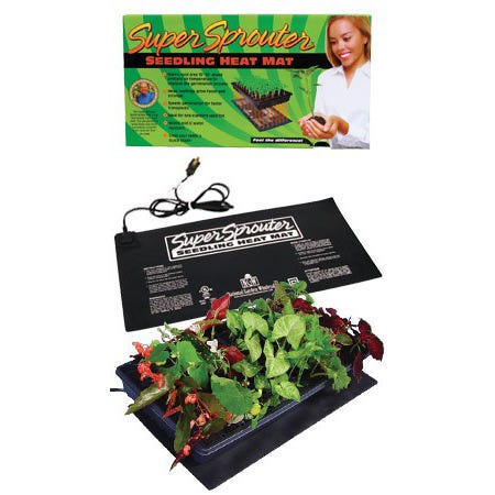 Super Sprouter Seedling Heat Mat Seed Starting, Seedling, Seedstarting Supplies, Gardening, Seed-Starting, Garden