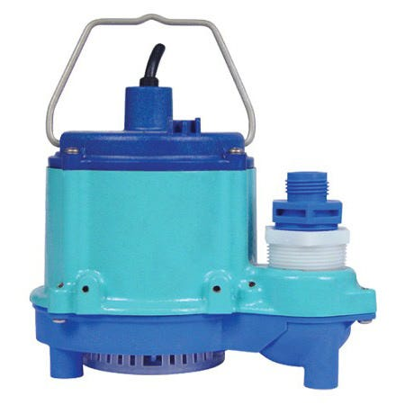 Little Giant 6-CIM-R Submersible Pump -- 2760 GPH