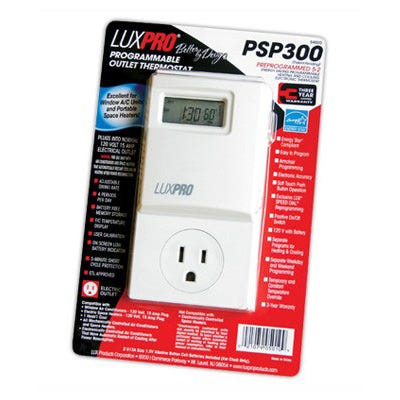 Luxpro Programmable Digital Thermostat -- PSP300