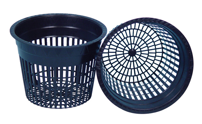 Excellent quality net pots are thicker and more heavy-duty than most on the market. They offer a wider rim for better support. Smaller mesh allows the grower to use virtually all types of grow media.