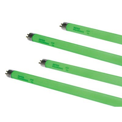Spectralux Green T5 HO Fluorescent Grow Lamp -- 4' Pack of 8