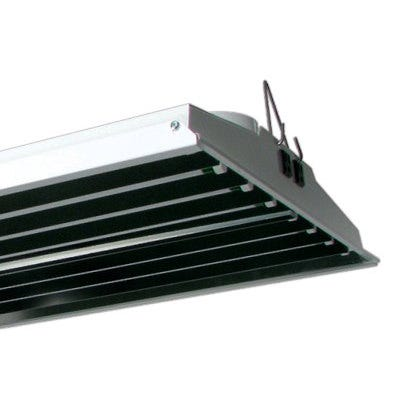 Solar Wind Air Cooled T5 HO Fluorescent Fixture -- 8 Lamp - 48 inch - DISCONTINUED