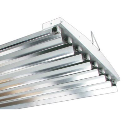 Solar Flare T5 VHO Fluorescent Fixture -- 8 Lamp - 48 inch - 240V - DISCONTINUED