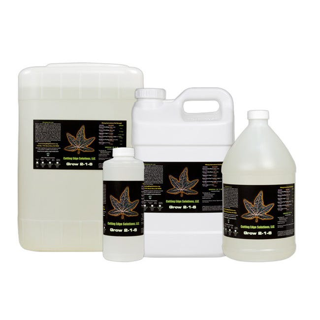 Cutting Edge Solutions Grow 2-1-6 -- 55 Gallon -- Special Order