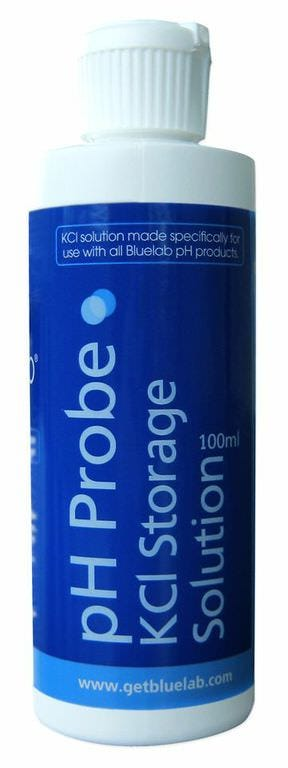 Photograph of Bluelab pH Probe KCI Storage Solution 100mL