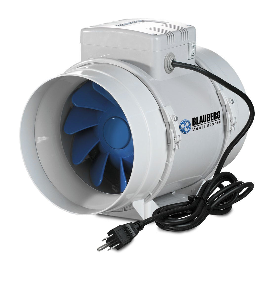 Blauberg Turbo Inline Mixed Flow Fan 6 Inch 250 Cfm Discontinued