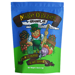 Plant Success Mike O'Rizey Mike O'Rizey is a beneficial soil organism inoculant. It contains a diverse blend of mycorrhizal fungi that once established increase the surface area of your root system 100 - 1,000 times. This greatly increases the nutrients and water available to your plant. What results is a larger more robust plant. Use at planting time, when transplanting or add to existing plants. Don't plant without it! Not for sale in DE and HI at the time of this catalog printing.