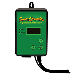 Super Sprouter Digital Heat Mat Thermostat Seed Starting, Seedling, Seedstarting Supplies, Gardening, Seed-Starting, Garden