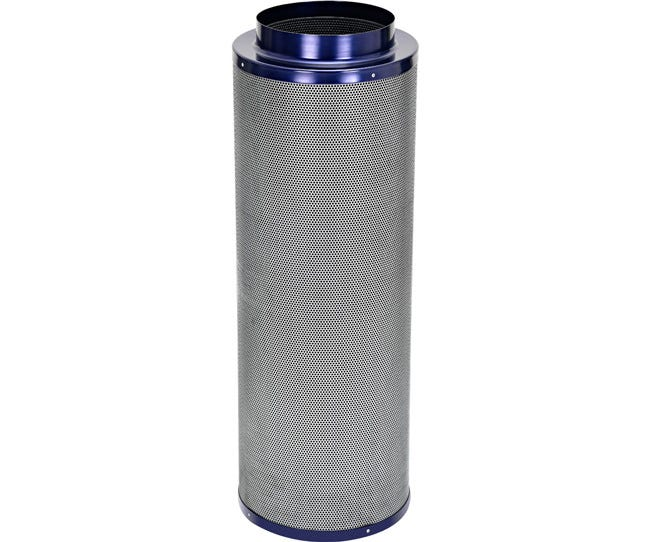 Active Air Carbon Filter 10 x 39 in - 1400 CFM Active Air Carbon Filters are loaded with virgin activated Australian Granular Carbon. This carbon absorbs VOC's (volatile organic compounds) thus trapping every odor molecule that passes through the filter onto the micro-porous carbon surface! These filters are light weight and incredibly effective at removing the most potent and heavy odors. Each filter is machine packed and includes a pre-filter. Features Attached flange 1.8  carbon bed depth Powder coated aluminum tops & bases 2-year life expectancy