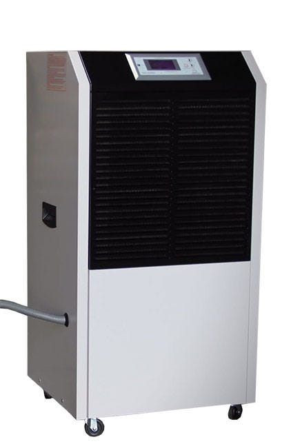 Aura Systems 180 Pint Portable Dehumidifier Aura Systems 180 Pint Portable Dehumidifier The Aura Systems 180 Pint Portable Dehumidifier features an automatic restart, which allows the Portable Dehumidifier to be used with humidity controllers. The Aura Systems Dehumidifier is recommended for a 8-12 light grow room. Features Easy-to-use digital display with temperature and humidity readings Removable, washable filter Defrost Function Set point as low as 10% RH 1-speed fan motor Powder-coated metal casing for long life Heavy-duty compressor Dehumidifies 180 pints/day Easy-rolling caster wheels Specifications Humidity Removal 30º/ 80% Auto Restart/Controller Ready Refrigerant/Quantity R410A/700g Rated Voltage/Frequency 110V @ ~60Hz Power: 10.5A, 1280W Warning All Aura Systems dehumidifiers need surge protection and a dedicated power circuit. In the event of a power failure, a spike in voltage may occur when the power is reinstated. This can damage the circuit board, and is not covered under warranty.