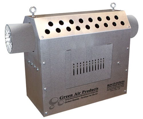 Green Air Products CO2 Generator 17500 BTU Propane DISCONTINUED