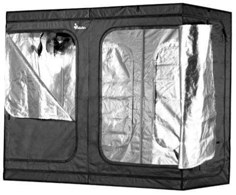 Photograph of Plant House Indoor Grow Tent - 4' x 8' x 73