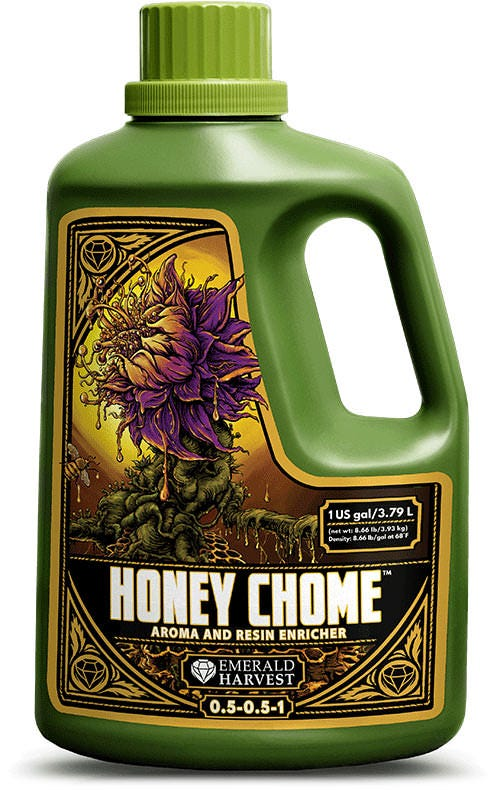 Emerald Harvest - Honey Chome - Aroma and Resin Enricher - 6 Gal