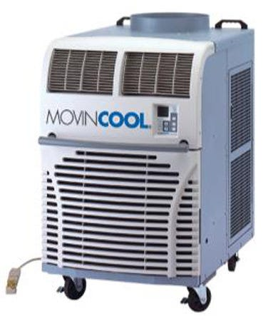 MovinCool 36,000 BTU/h Air-Cooled Portable A/C 208/230 Volt Providing 36,000 Btu/h of cooling, the Office Pro 36 is the ideal plug-in air conditioner to cool gardens. It uses a self-contained, portable design. No 3rd party installation required. Just roll it in, plug it in, turn it on and your done. It's that simple (exhaust duct required in most cases). The Office Pro 36 features easy-to-use programmable controls allowing automatic operation. There are loads of easy to use accessories that allow you to adapt the Office Pro 36 to your particular garden design. Power requirements: Single phase, 60 hz, 208/230V power. Dedicated circuit with 30 amp max fuse protection recommended. Uses a NEMA 6 - 30 plug on a 6 ft, 12 GA power cord. Typical power consumption during operation is 19.6 amps and 4,300 watts. Unit weighs 427 lb unboxed and 527 lb boxed. Unit dimensions are 30 in wide, 40 in deep and 52 in tall. Operating conditions are 65° - 95° deg F. Max Duct lengths are 60 ft on condenser (hot air) and 40 ft on supply air (cold air). Noise level is 66 dB.