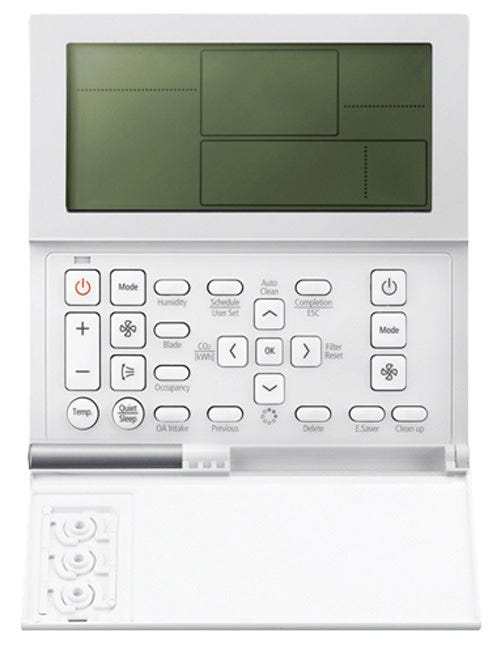 Samsung Programmable Thermostat for Split Systems Samsung Programmable Thermostat for Split Systems including the 700558