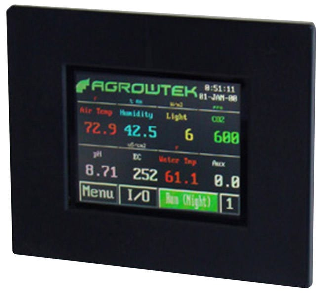 Photograph of Agrowtek AgrowTouch Color Touch Screen for GC-ProXL