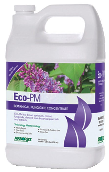 Arborjet Eco-PM Botanical Fungicide Concentrate - Gallon Case of 4