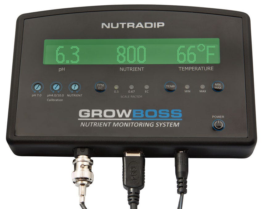 NutraDip GrowBoss - Nutrient Monitoring System