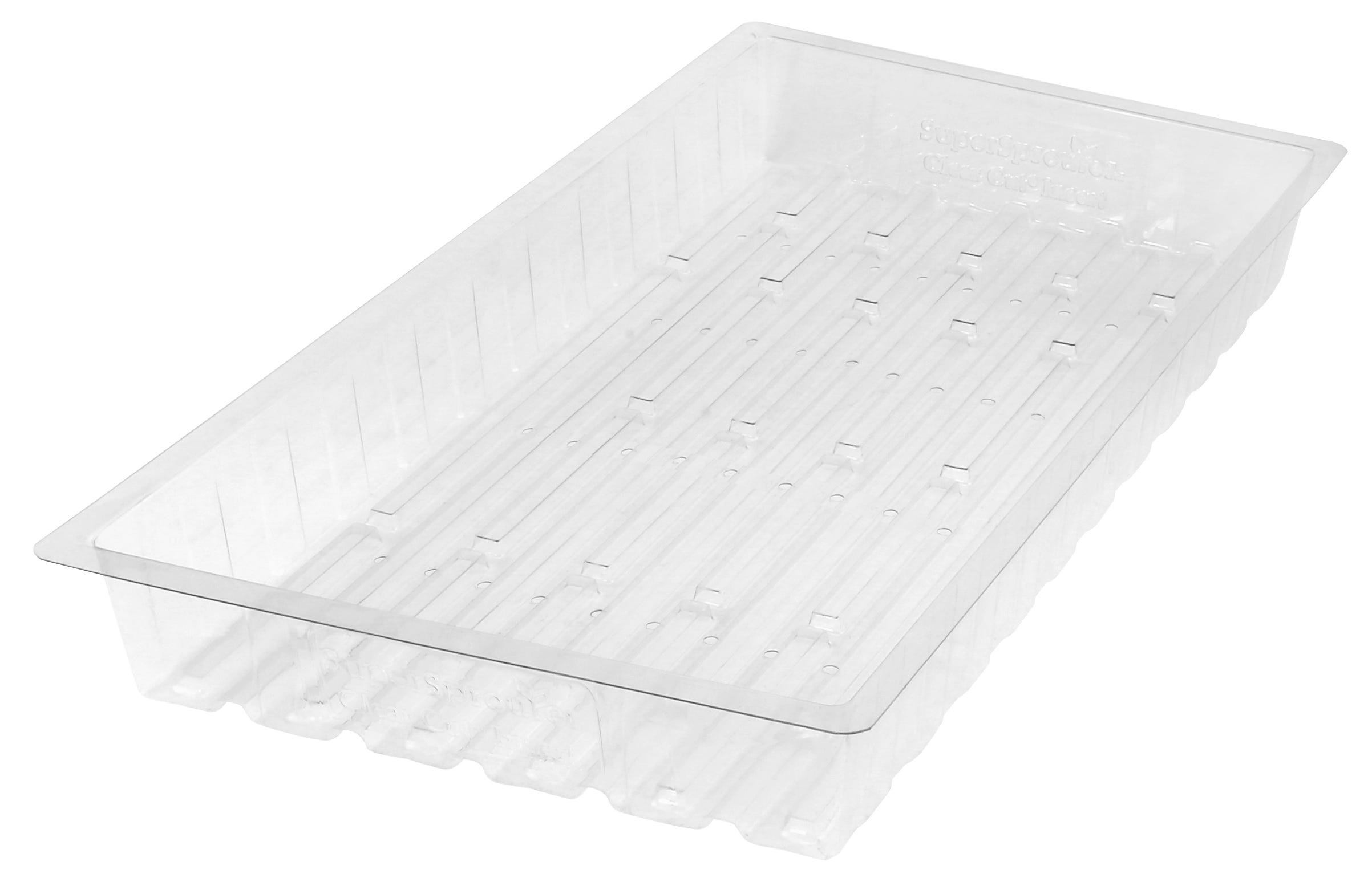 Photograph of Super Sprouter - Clear Cut - Insert Tray w/ Holes (Case of 35)