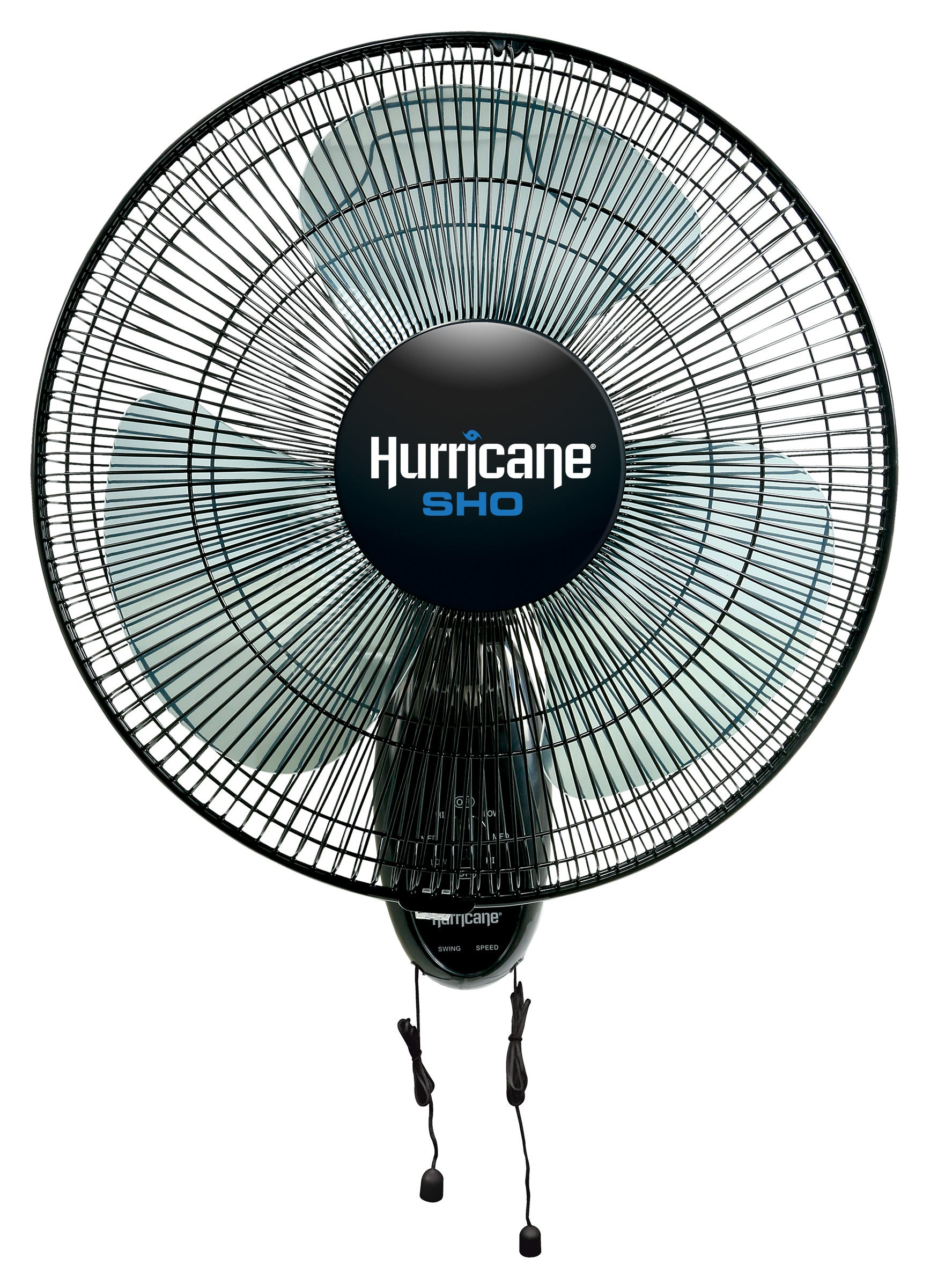 Hurricane SHO Oscillating Wall Mount Fan 16 in