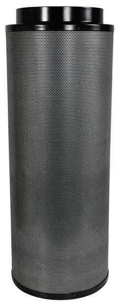 Black Ops Carbon Filter 12 in x 39 in 1700 CFM Black Ops Carbon filters feature virgin activated Australian RC-412 granular carbon. The activated carbon absorbs and traps pollutant molecules within the carbon removing contaminants, odors and other airborne impurities. Lightweight design Precision machine packing allows for more carbon loaded within and less movement Open air mesh design maximizes airflow Powder coated aluminum tops & bases Built in flange and 2 pre-filters are included 2 year life expectancy *Life expectancy is average, could be more or less based on environment and usage.
