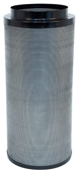 Black Ops Carbon Filter 14 in x 39 in 2100 CFM Black Ops Carbon filters feature virgin activated Australian RC-412 granular carbon. The activated carbon absorbs and traps pollutant molecules within the carbon removing contaminants, odors and other airborne impurities. Lightweight design Precision machine packing allows for more carbon loaded within and less movement Open air mesh design maximizes airflow Powder coated aluminum tops & bases Built in flange and 2 pre-filters are included 2 year life expectancy *Life expectancy is average, could be more or less based on environment and usage.