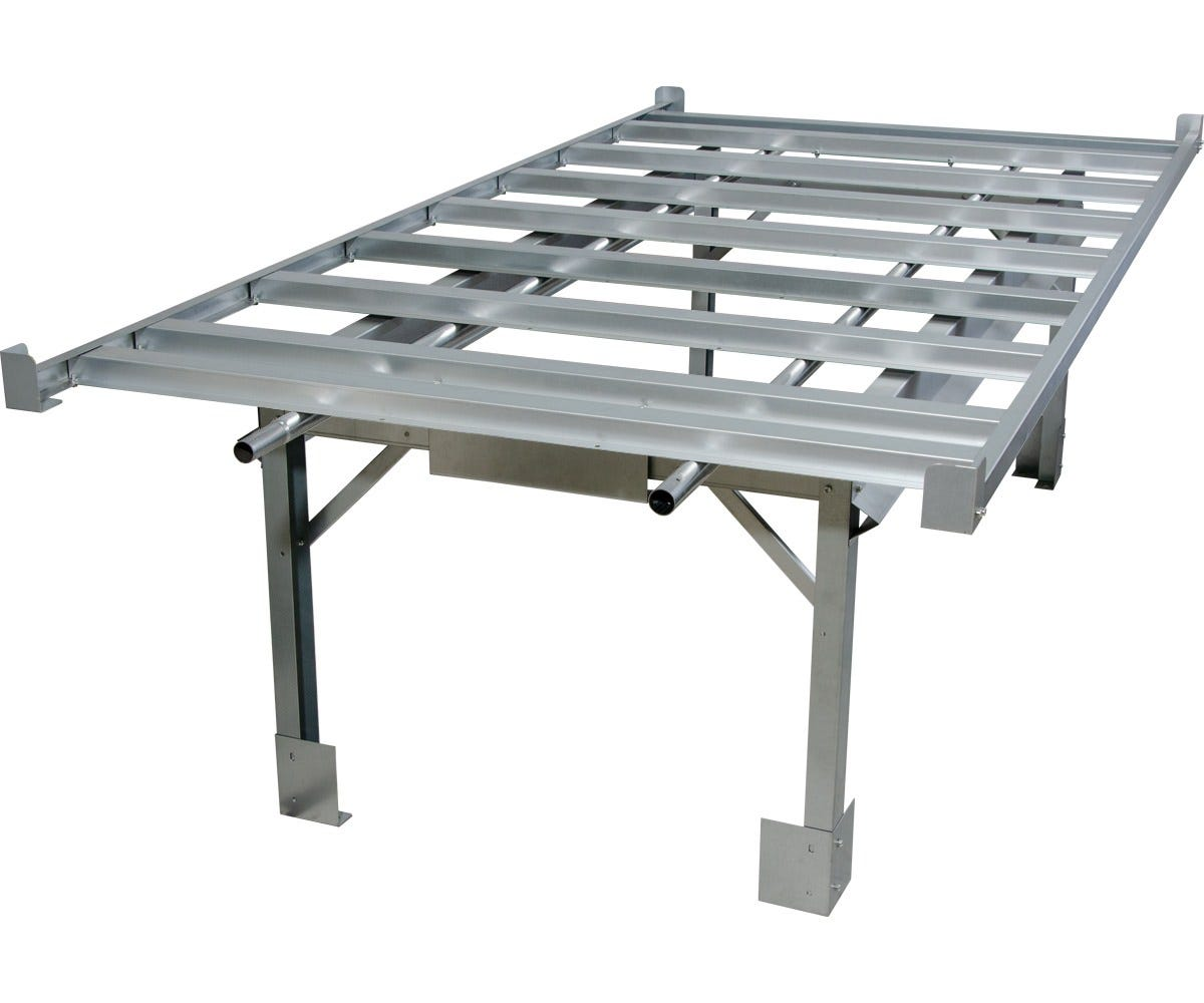 Photograph of Active Aqua 4' X 8' Rolling Bench System