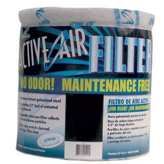 Active Air 13 inch x 12 inch Carbon Filter - No Flange *DISCONTINUED*