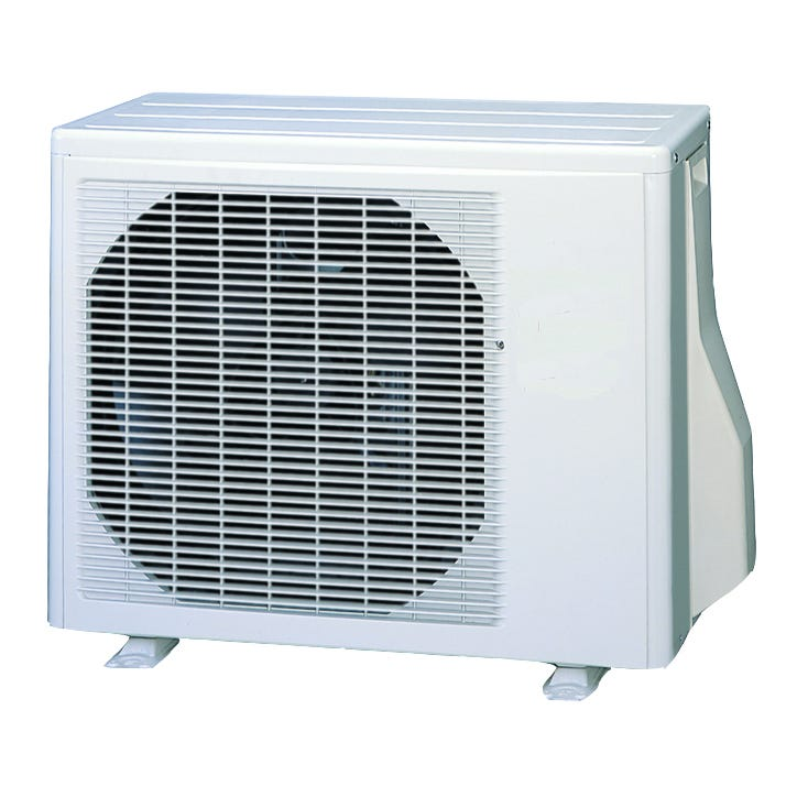 Active Air 12,000 BTU 115 volt split A/C Unit 13.5 SEER *DISCONTINUED* These slim, wall mounted indoor units have a clean, aesthetic design and are small but mighty and shorter in length than competing units, helping them blend into any room. Environmentally friendly, high SEER rated R410A refrigerant, with both heating and cooling operation, quiet mode, deodorizing filter and easy maintenance. This category of equipment is ideal for smaller spaces where cooling or heating is required. Wireless remote control High SEER rating - 13.5 Quick connect and charged (unit, not lines) On/Off timer Dry mode Auto louver: 4-way Auto mode Quiet mode Power diffuser Auto restart/reset Low ambient AC Cold prevention Ion deodorizing filter Each kit comes complete with head unit and base. *Copper Line Set sold seperately* Warranty Information: Unless installed by a HVAC professional, there is no warranty.