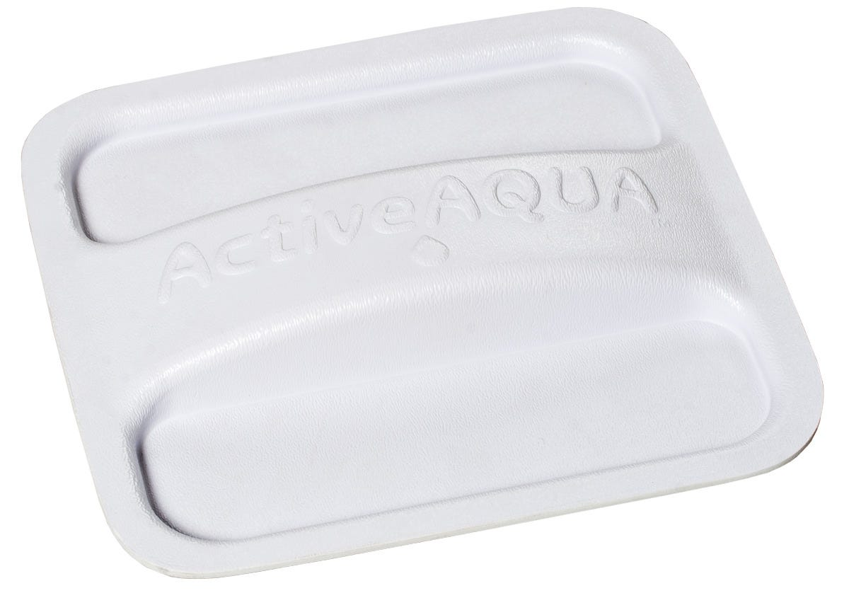 Active Aqua White Port Hole Cover - Fits All Size Reservoirs