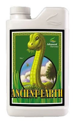 Advanced Nutrients - Ancient Earth - 4 L TAKE YOUR PLANTS TO THE NEXT LEVEL, TOGETHER, HUMIC AND FULVIC ACIDS WORK SYNERGISTICALLY TO HELP YOUR PLANTS GROW MORE VIGOROUSLY, AND PRODUCE HUGE YIELDS... Ancient Earth is actually a combination of two other single products, Grandma Enggy's F-1 and H-1, which combines the teamwork of humic and fulvic acids to bring you a bumper harvest. Forget About Your Old Fulvic and Humic Acid Supplements and Tap into an Even Older, Organic Source of Power... For years now we've offered you Grandma Enggy's H-2 and F-1, two revolutionary nutrient supplements derived from a single extraordinary compound called leonardite. We combined fulvic and humic acids into a single AFFORDABLE nutrient formula that was specifically designed to fit the needs of the valuable plants we grow. Ancient Earth reduces the effects of salinity and pH fluctuations, increases your plants' uptake of the precious micronutrients that drive your plants to reach their optimum yield. Plus, you get double the value, because this one formula replaces two products previously sold separately. ANCIENT EARTH BENEFITS: Stimulates seed germination and root growth Enhances the water-holding ability of soil One of the most concentrated liquid humic products available Contains only water soluble humates Boosts chelating power Greatly improves plant nutrient health Enhances permeability of plant membranes Highest quality product available WHEN TO USE ANCIENT EARTH: Use this product throughout the entire vegetative and flowering phases.