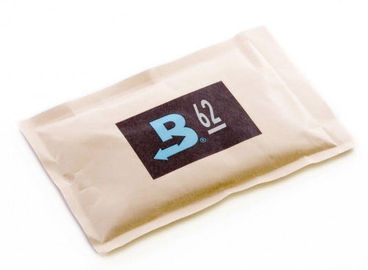 Photograph of Boveda 62% Humidity Control 67g Replacement Pak for Cvault pack of 6