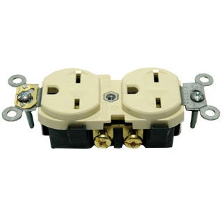 15A/240v Duplex Receptacle 15A/240v Duplex Receptacle We offer a full range of power supply cords as well as adapters to switch from Hydrofarm ballasts to other brands of reflectors, or from Hydrofarm reflectors to other brands of ballasts. We also offer extension cords for your convenience, but keep in mind that some high intensity light systems may not work at long lamp cord lengths due to ignitor range restrictions. If you have any questions, please consult your sales representative.