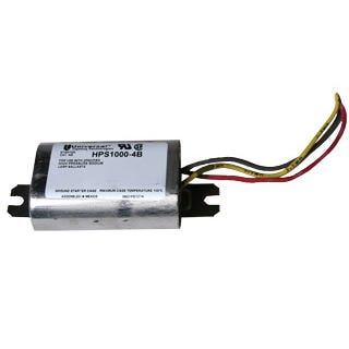 Ignitor HPS 1000W Ignitor Sodium 1000 Watt for Power House PH57361 and PH57370 Replacement ignitors are available in a variety of wattages, brands and types. Be sure to review item number and descriptions carefully before ordering. If we can help you select the proper item, please don't hesitate to contact your Hydrofarm sales representative.