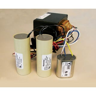 Ballast Kit HPS 150W (Reactor-No Cap) Ballast Kit Sodium 150 W (Reactor-No Cap) We offer premium quality North American made ballast components. All parts are UL recognized. Ballasts include welded-on brackets for easy replacement mounting. All units 175 watts and above are multi-volt capable. Replacement Ballast Kits - Halide, Sodium or Halide/Sodium Convertibles are available in a variety of wattages, brands and types. Be sure to review item number and descriptions carefully before ordering. If we can help you select the proper item, please don't hesitate to contact your Hydrofarm sales representative. Photos shown may not be actual product, brand may vary, may be North American or imported brand.