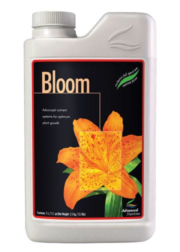 Advanced Nutrients - Bloom - pH Perfect 3 Part 1 L pH Perfect Micro has been specially designed for use with all hydroponics, growing mediums. pH Perfect Micro has been developed for use with any and all hydroponic, aeroponic, drip irrigation, NFT, flood and drain and continuous liquid feed growing systems. Grow, Micro, and Bloom base nutrients are for growers accustomed to using three-part nutrients. Advanced Nutrients™ has refined and developed the most full spectrum threepart nutrient package available to growers The combination of the pH Perfect™ Technology, simplified mixing rates and level of chelation in the balanced nutrient ratios ensure that crops always have access to the highest level of nutrition and vitality boosters possible Growers using the pH Perfect™ Technology nutrient technology will not have to worry about pH in their nutrient solutions, because the new formulas are able to adjust the pH to the optimal range automatically. Combining an optimal pH level with these cutting edge chelates has growers reporting back with a new standard in yield expectations.
