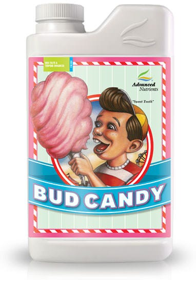 Advanced Nutrients - Bud Candy Sweet as Candy! Imagine back into your past when you were a kid at the County Fair and you were eating cotton candy. It was pure delight that melted in your mouth and left your fingers gooey and sticky. The taste and those smells, it drove you crazy! Not only that, but you got a huge, immediate jolt of energy from all that sweet stuff...full of get-up-and-go you ran around the County Fair with your mother barely being able to keep up, and having the time of your life. Bring Bud Candy home for your plants. Savor the sweet smells and tastes you've always loved. Ingredients: 72 Trace Elements Arabinose Ascorbic Acid Citric Acid Cranberry Extract Esters Fermented Yeast Extract Galactose Glucose Grape extract L-Alanine L-Arganine L-Asparagine L-Aspartic acid L-Cystine L-Glutamic acid L-Glutamine L-Glycine L-Histidine L-Isoleucine L-Leucine L-Lysine L-Methionine L-Phenylalanine L-Proline L-Serine L-Threonine L-Trytophan L-Tyrosine L-Valine Malt Extract Maltose Polyphenolic Compounds Potassium Sulfate Raw Cane Juice Sweet Brown Molasses Vitamin B-1 (Thiamine Hydrochloride) Vitamin B-12 (Cobalamin) Vitamin B-2 (Riboflavin) Vitamin B-3 (Niacin) Vitamin B-5 (Panthothenic Acid) Vitamin B-6 (Pyridoxine) Vitamin B-7 (Biotin) Xylose