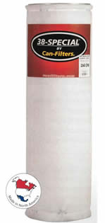 Can Filter 38 Special -- 125 - 1110CFM DISCONTINUED