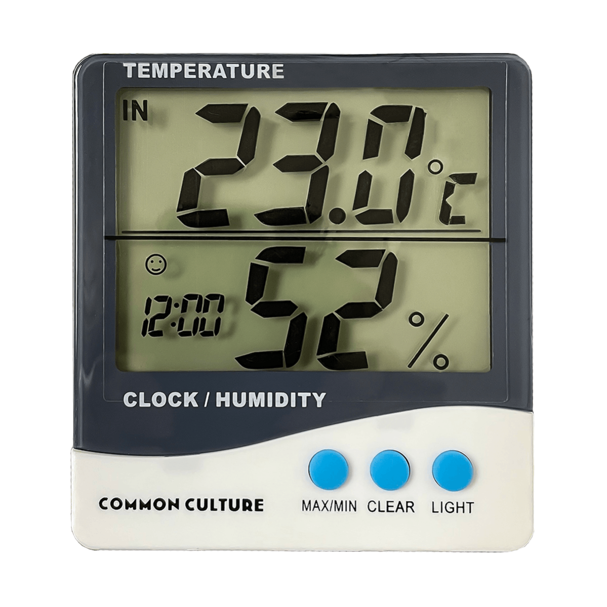 Photograph of Common Culture Large Display Thermometer & Hygrometer