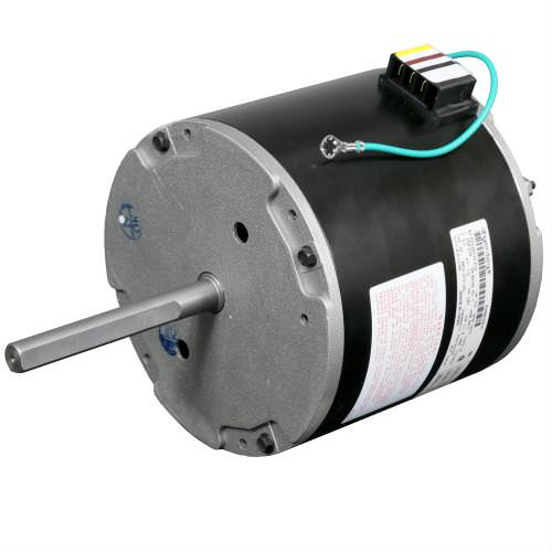 Ideal-Air DriFecta Condenser Fan Motor for Low Ambient Temperature Operation *DISCONTINUED* This item has been discontinued, Please try our selection of Air Conditioner Accessories for an alternative. The Ideal-Air DriFecta Condenser Fan Motor for Low Ambient Temperature allows your DriFecta HVAC unit to operate in cooling mode when the outdoor temperature is less than 65 Fahrenheit, which can cause the indoor coil to freeze up. The Condenser Fan Motor is located in the outside unit, and its function is to move air across the condenser coil to cool the refigerant. By cooling the refrigerant, it changes from a hot gas into a liquid. Important Note: Requires Ideal-Air Electronic Low Ambient Temperature Controller Kit to function properly.