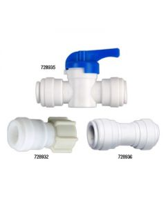 Hydro-Logic Quick Connect to Garden Hose for Merlin GP RO/Tall Blue Systems -- 1/2 inch